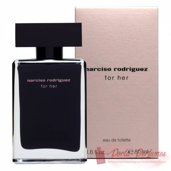 comprar Decant / Amostra do Perfume Feminino Narciso Rodriguez For Her Eau de Toilette (EDT)