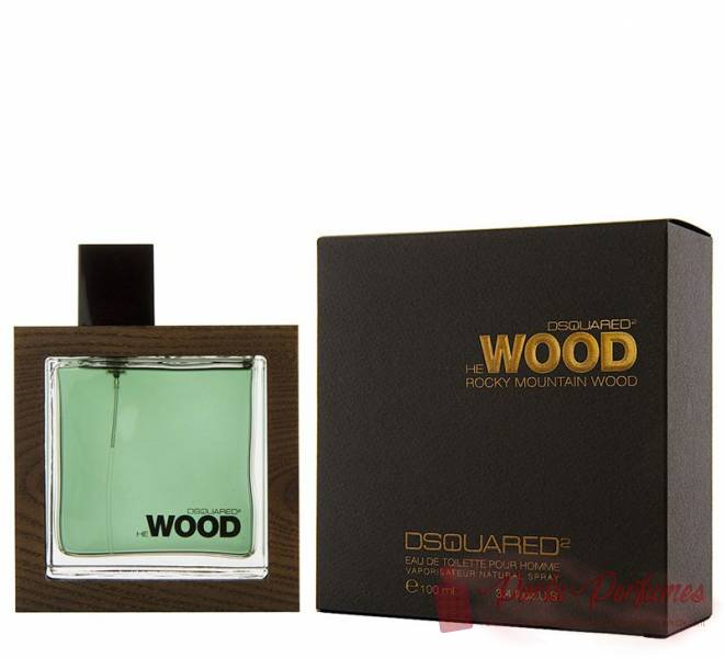 comprar Decant / Amostra do Perfume Masculino Dsquared² He Wood Rocky Mountain Eau de Toilette (EDT)