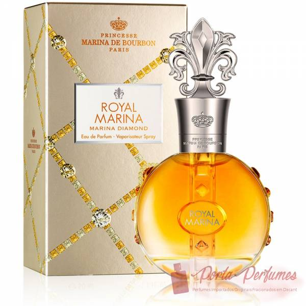 Decant / Amostra do Perfume Feminino Marina de Bourbon Royal Diamond Eau de Parfum (EDP)
