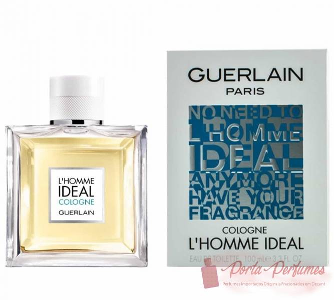 Decant / Amostra do Perfume Masculino Guerlain L'homme Ideal Cologne Eau de Toilette (EDT)