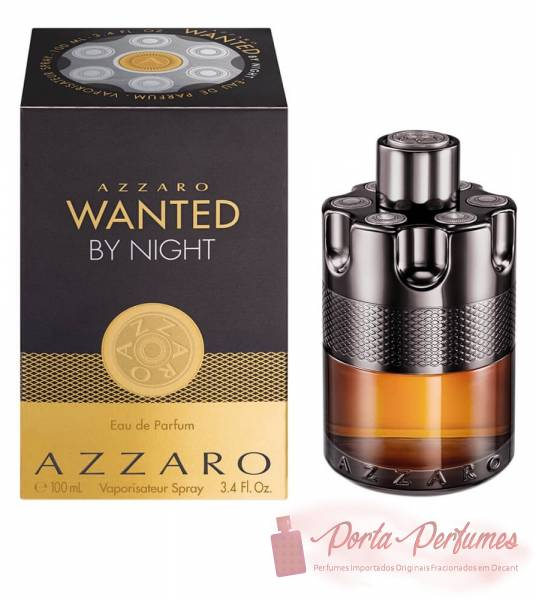 Decant / Amostra do Perfume Masculino Azzaro Wanted By Night Eau de Parfum (EDP)