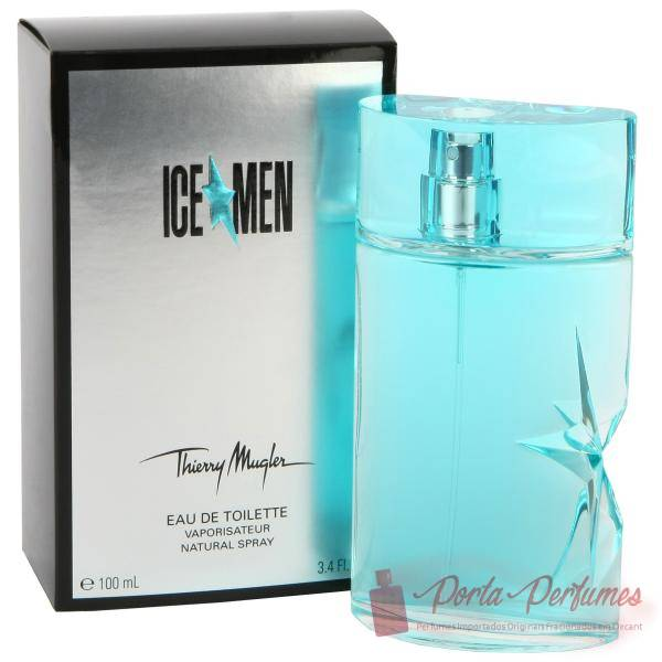 comprar Decant / Amostra do Perfume Masculino Thierry Mugler Ice Men Eau de Toilette (EDT)