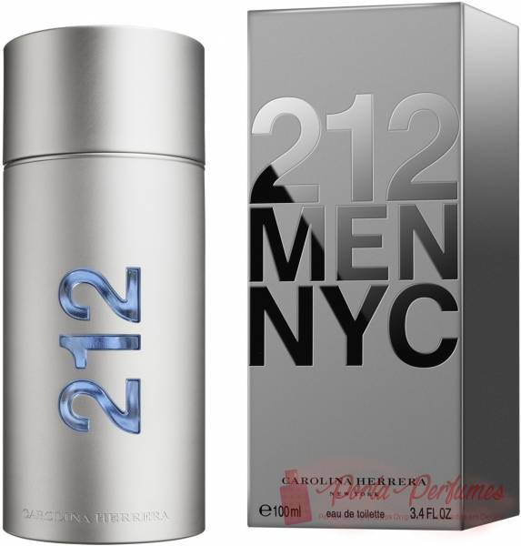 comprar Decant / Amostra do Perfume Masculino Carolina Herrera 212 Men NYC Eau de Toilette (EDT)