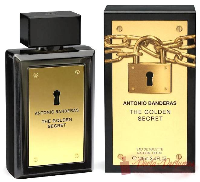 comprar Decant / Amostra do Perfume Masculino Antonio Banderas The Golden Secret Eau de Toilette (EDT)