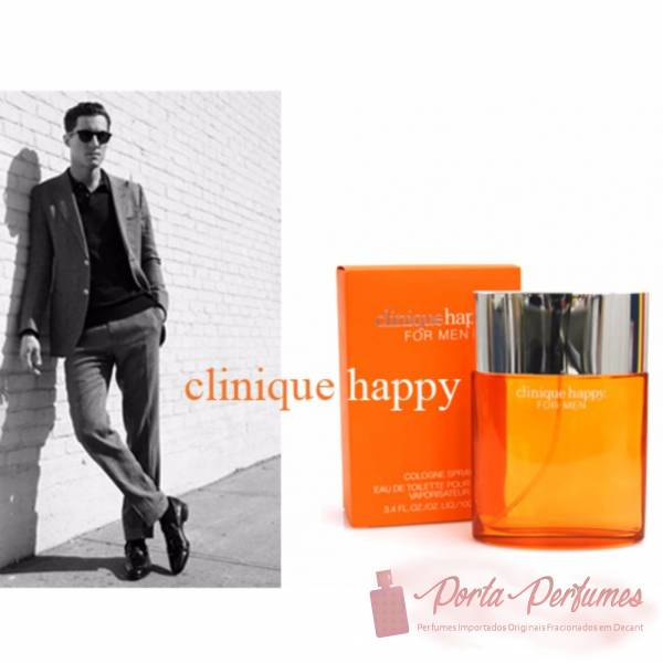 comprar Decant / Amostra do Perfume Masculino Clinique Happy Eau de Toilette (EDT)